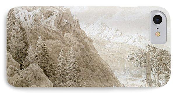 Autumn Phone Case by Caspar David Friedrich