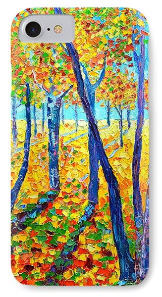 Autumn Colors IPhone Case by Ana Maria Edulescu