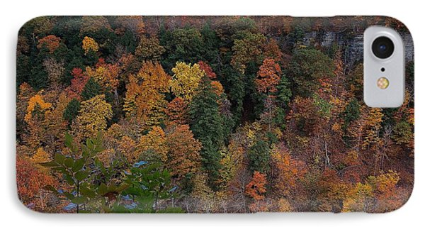 IPhone Case featuring the photograph Autumn Colors In Taughannock State Park Ithaca New York by Paul Ge