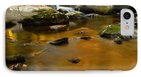 Autumn Colors On Little River IPhone Case by Dan Sproul