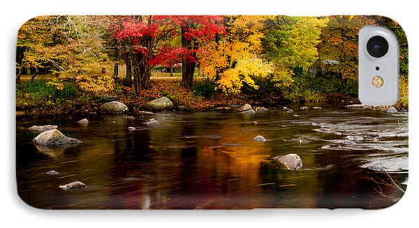 Autumn Colors Reflected Phone Case by Jeff Folger