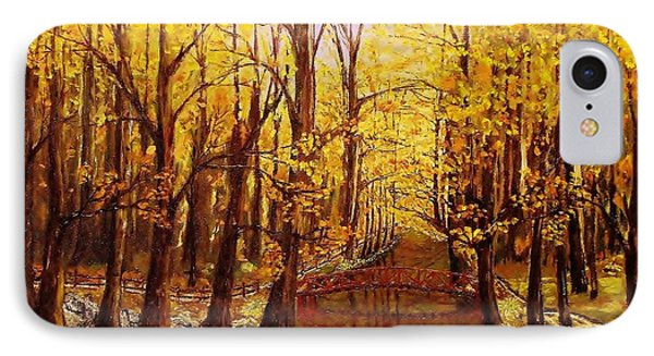 Autumn Cool IPhone Case by Mike Caitham