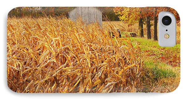Autumn Corn IPhone Case by Mary Carol Story