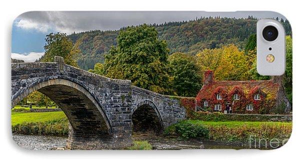 Autumn Cottage IPhone Case by Adrian Evans