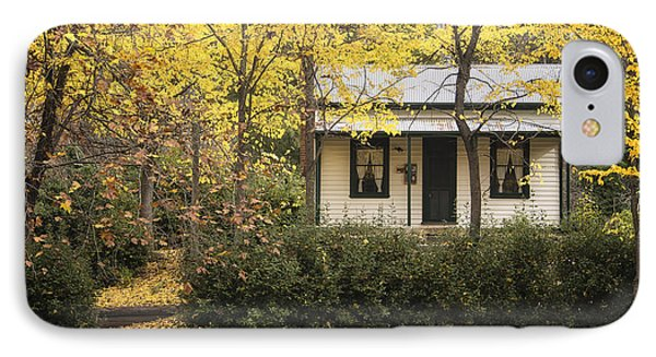 Autumn Country Home IPhone Case by Kim Andelkovic