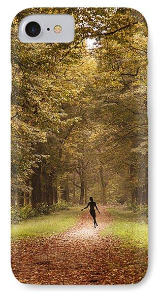 Autumn Dance IPhone Case by Alfio Finocchiaro