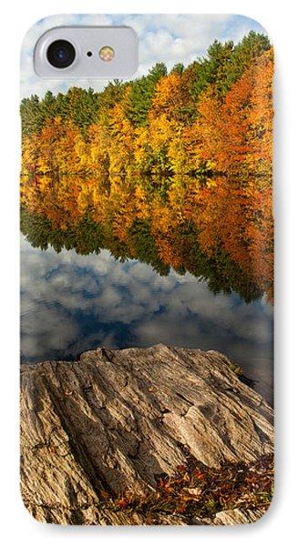 Autumn Day Phone Case by Karol Livote