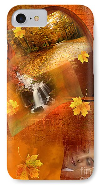 Autumn Dream IPhone Case by Giada Rossi