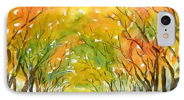 Autumn Elms IPhone Case by Pat Katz