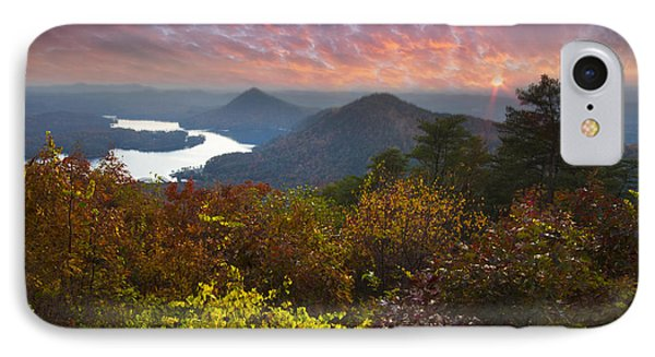 Autumn Evening Star Phone Case by Debra and Dave Vanderlaan