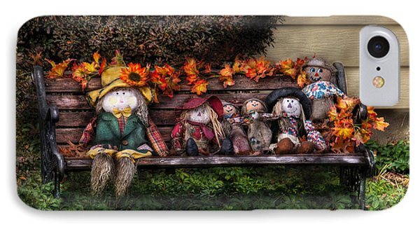 Autumn - Family Reunion Phone Case by Mike Savad