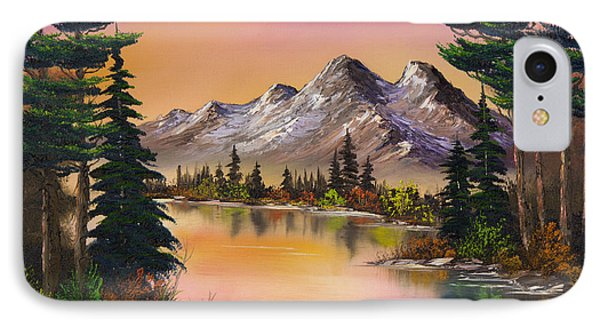 Mountain Fantasy IPhone Case by C Steele
