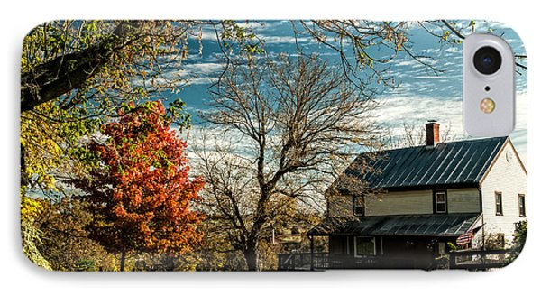Autumn Farm House IPhone Case