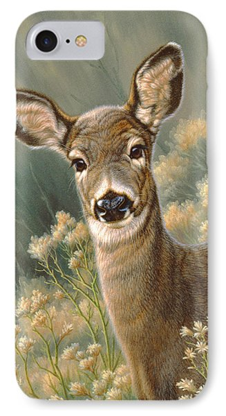 Autumn Fawn-blacktail IPhone 7 Case by Paul Krapf