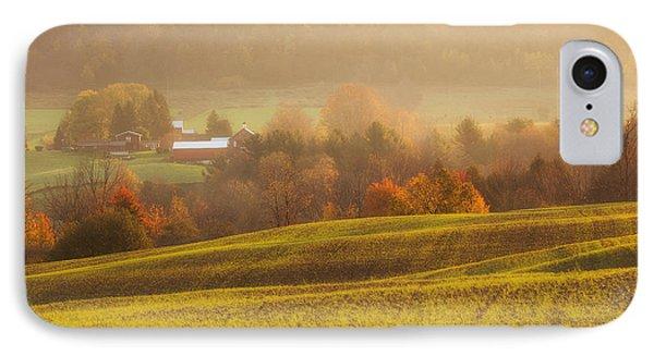 Autumn Fields IPhone Case by Michele Steffey