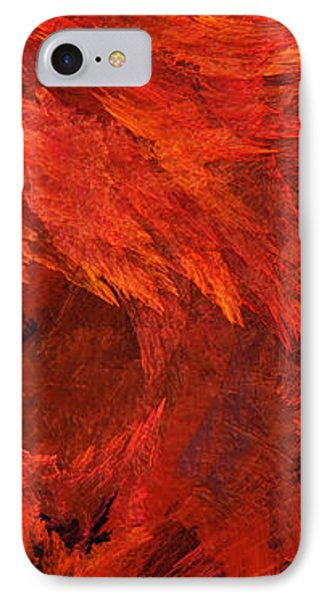 Autumn Fire Pano 2 Vertical Phone Case by Andee Design
