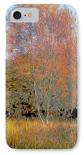 Autumn Fires IPhone Case by Jim Pavelle
