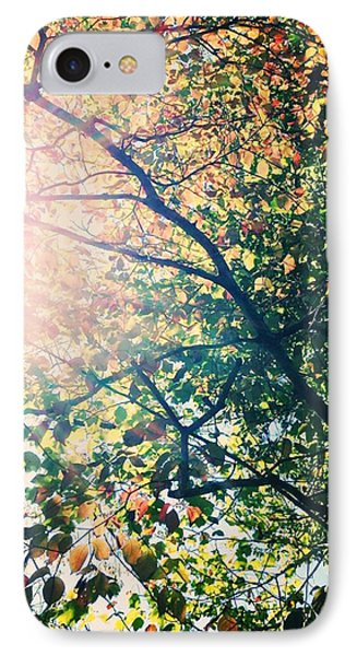 Autumn Flame IPhone Case by Kim Fearheiley