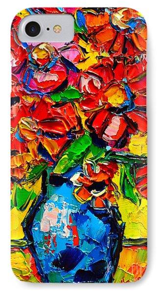 Autumn Flowers 7 Phone Case by Ana Maria Edulescu