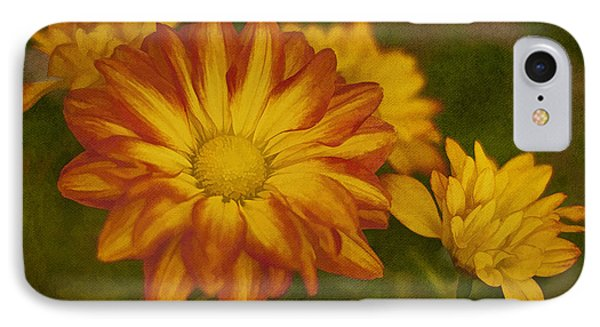 Autumn Flowers Phone Case by Ivelina G