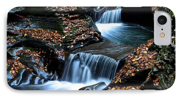 Autumn Flows Forth Phone Case by Frozen in Time Fine Art Photography