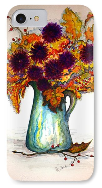 IPhone Case featuring the painting Autumn Foilage by Rae Chichilnitsky