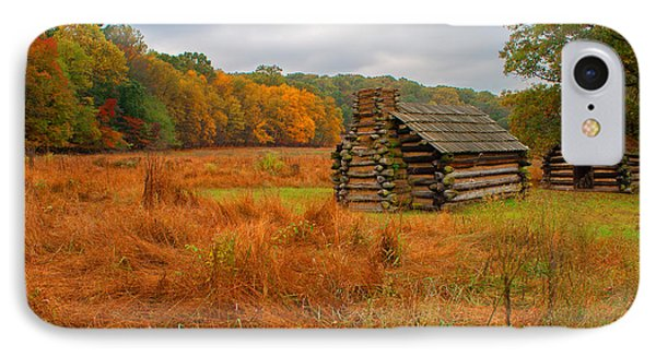Autumn Foliage In Valley Forge IPhone Case