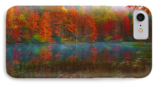 Autumn Foliage Phone Case by Lanjee Chee