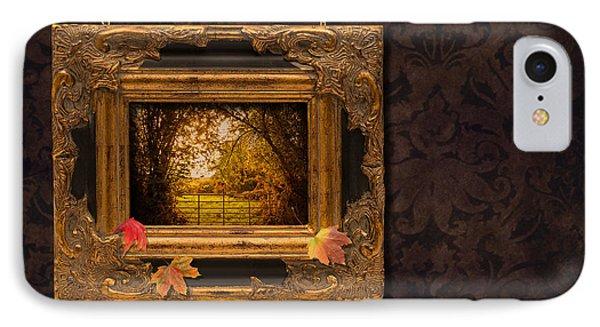 Autumn Frame Phone Case by Amanda Elwell