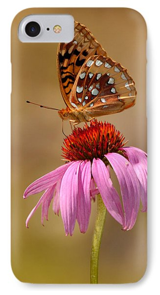 Autumn Fritillary Butterfly IPhone Case