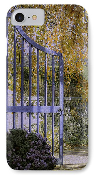 Autumn Garden IPhone Case by Julie Palencia