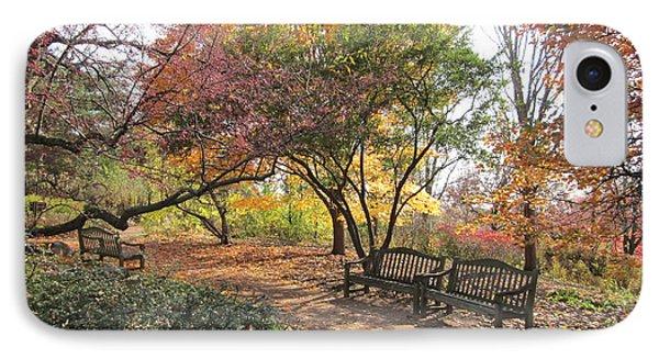 Autumn Garden IPhone Case by Kathie Chicoine