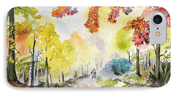 Autumn IPhone Case by Geeta Biswas