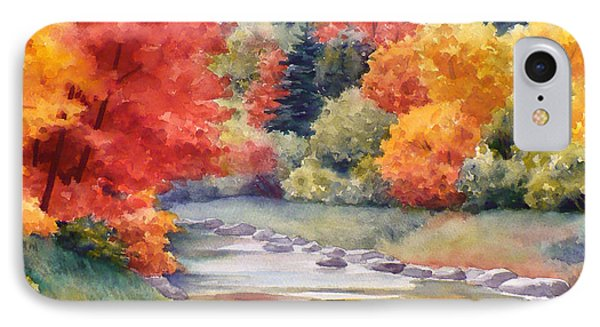 Autumn Glory IPhone Case by Janet  Zeh