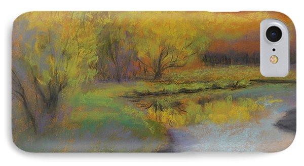 Autumn Glow At Catfish Corner Phone Case by Sherri Anderson