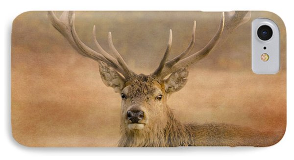 Magnificant Stag IPhone Case by Linsey Williams
