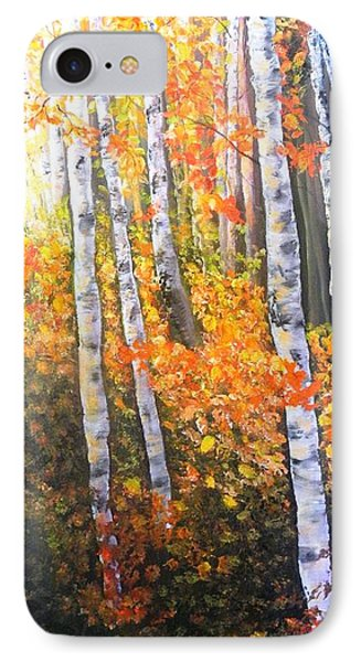 Autumn Glow IPhone Case by Patti Gordon
