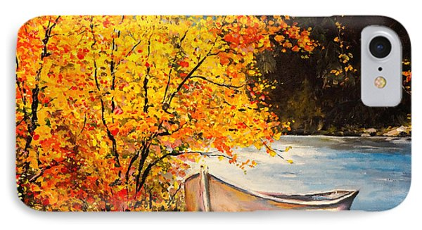 Autumn Gold IPhone Case by Alan Lakin