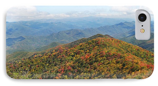 Autumn Great Smoky Mountains IPhone Case by Melinda Fawver