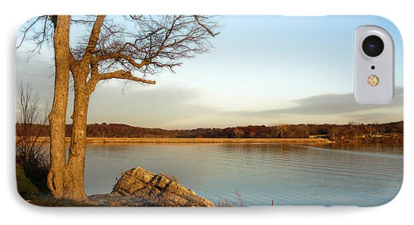 Autumn Guardian Of The Lake IPhone Case by Ellen Tully