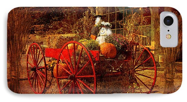 Autumn Harvest At Brewster General IPhone Case