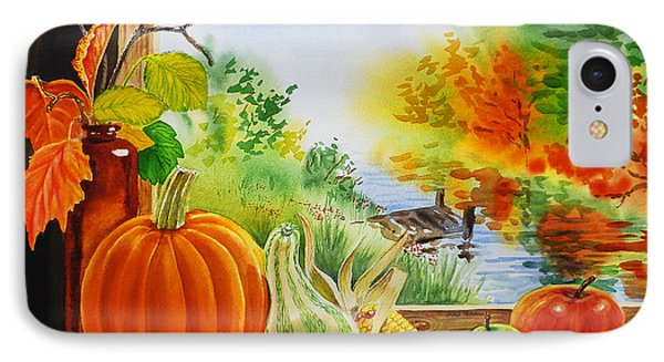 Autumn Harvest Fall Delight IPhone Case