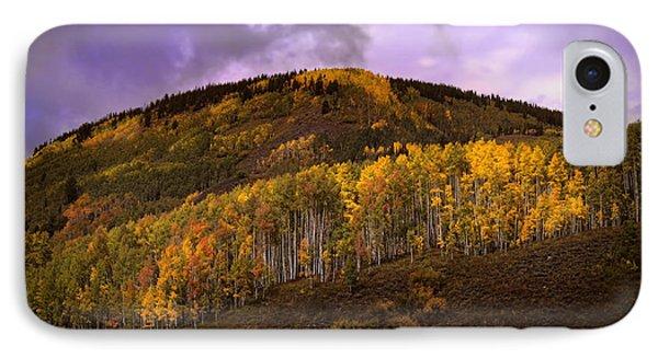 IPhone Case featuring the photograph Autumn Hillside by Ellen Heaverlo