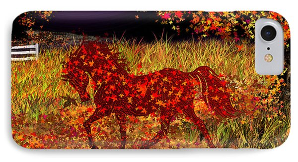 Autumn Horse Bewitched IPhone Case