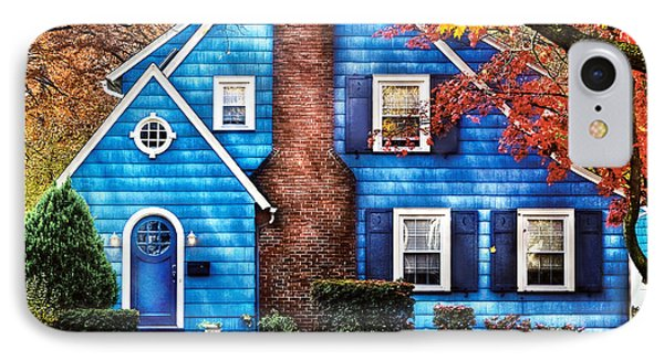 Autumn - House - Little Dream House  Phone Case by Mike Savad