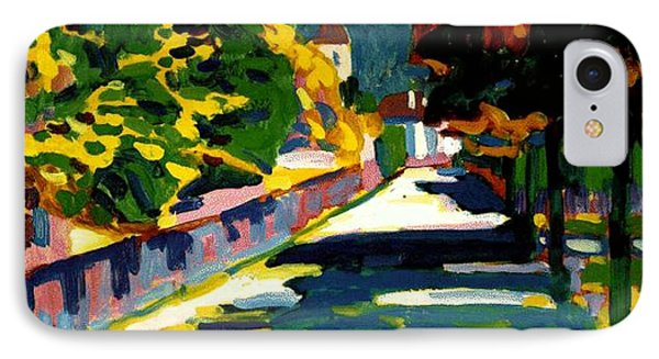 Autumn In Bavaria IPhone Case by Wassily Kandinsky