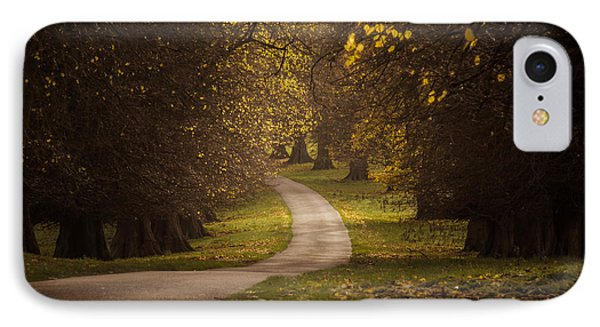 Autumn In Calke Abbey IPhone Case by Chris Fletcher