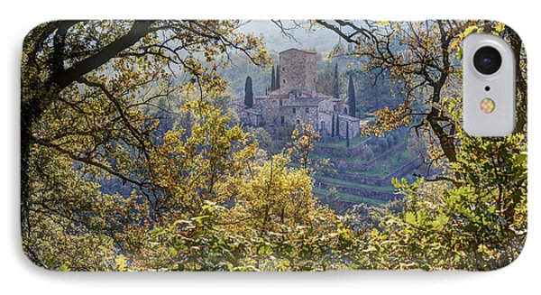 Autumn In Chianti IPhone Case by Eggers Photography