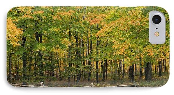 Autumn In Door County Phone Case by Adam Romanowicz