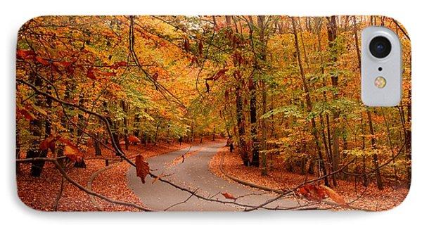 Autumn In Holmdel Park IPhone Case
